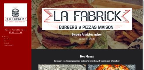 Réalisation site internet La Fabrick
